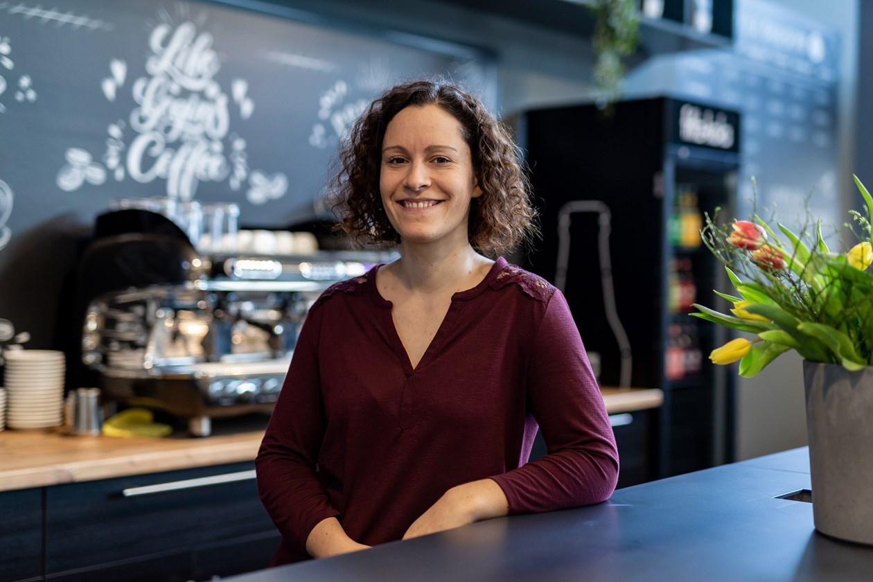 Malena Turon Operative Leitung Bistro und Kundenservice Boulderwelt Dortmund