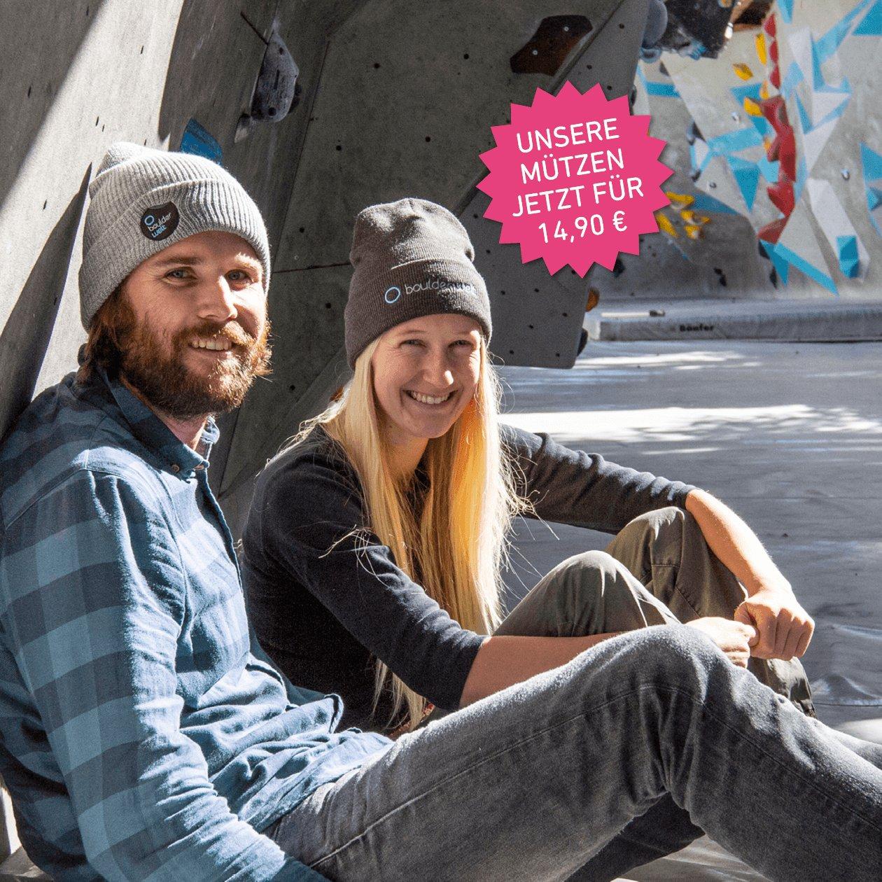 Boulderwelt Mützen für Jungs und Mädels - Preis 14,90 €