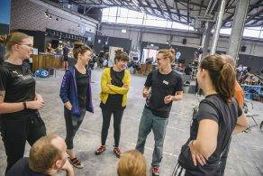 Schnuppertag 2020 in der Boulderwelt Dortmund - die Möglichkeit die Boulderwelt und die Trendsportart kennenzulernen.