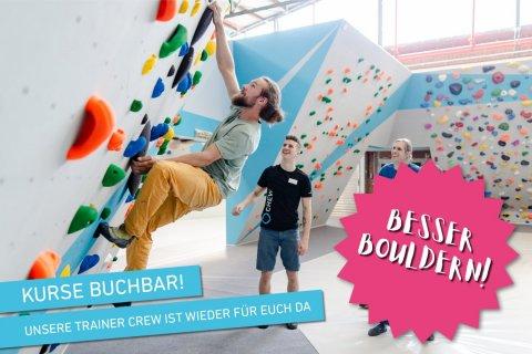 Kursprogramm Boulderwelt Dortmund während Corona