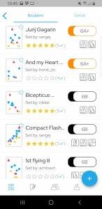 Filtermöglichkeiten - Mehr Spaß an der Definierwand mit der Retro Flash App in der Boulderwelt Dortmund