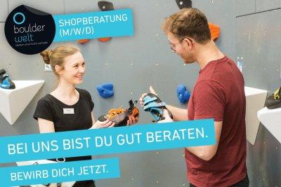 Boulderwelt Dortmund sucht Shopberatung